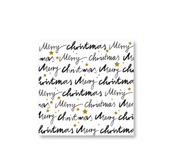 PPD Paper Napkins Merry Christmas 33/33