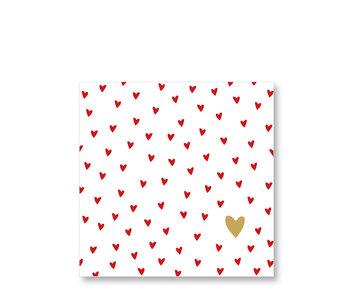 PPD Paper Napkins Little Hearts 33/33