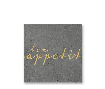 PPD Paper Napkins Bon Appetit Cement 33/33