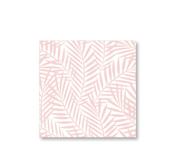 PPD Paper Napkins Palm Leaves Rosé 33/33