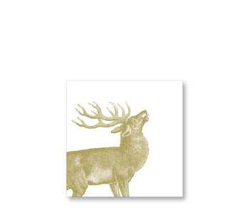 PPD Cocktail Napkins Engraved Stag 25/25