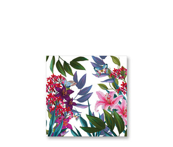 PPD Cocktail Napkins Tropical Lilies 25/25