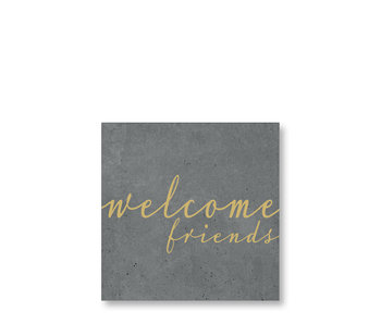 PPD Cocktail Napkins Friends Cement 25/25