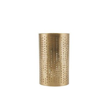 House Doctor Wilma Tealight Holder Brass Finish