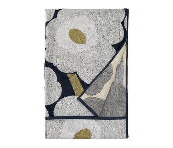 Marimekko Unikko Bath Towel 70/150 Blue/Grey