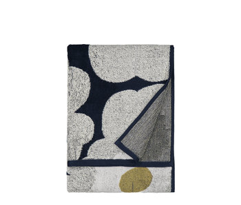 Marimekko Unikko Hand Towel 50/70 Blue/Grey