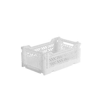 Aykasa Folding Crate Mini White