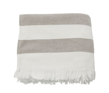 Meraki Towel Barbarum 100/180 White/Brown
