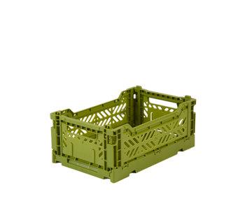 Aykasa Folding Crate Mini Olive