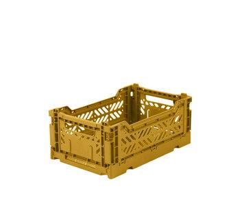 Aykasa Folding Crate Mini Mustard