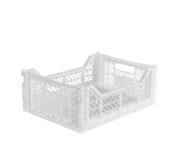 Aykasa Folding Crate Midi White