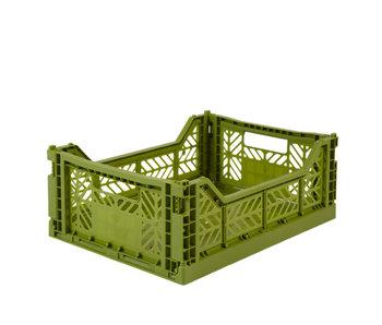 Aykasa Folding Crate Midi Olive