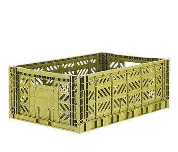 Aykasa Folding Crate Maxi Olive