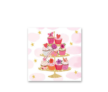 PPD Paper Napkins Happy Cupcakes 33/33