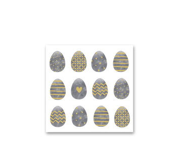 PPD Paper Napkins Easter Dream Grey 33/33
