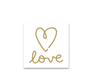 PPD Paper Napkins LOVE 33/33