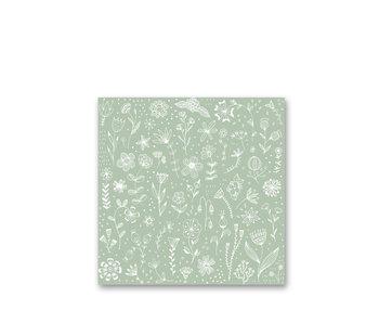 PPD Paper Napkins Pure Eucalyptus 33/33