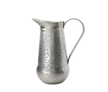 Meraki Althea Jug Antique Silver