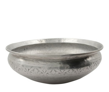 Meraki Althea Basin Antique Silver 42 cm
