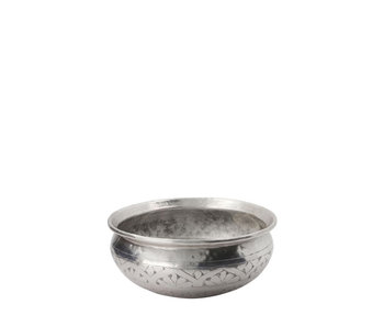 Meraki Althea Basin Antique Silver 21 cm