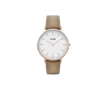 Cluse La Boheme Rose Gold White/Hazelnut