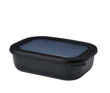 Mepal Cirqula Multikom Rechthoekig 1000 ml Nordic Black
