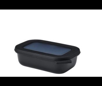 Mepal Cirqula Multikom Rechthoekig 500 ml Nordic Black