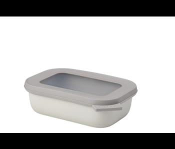 Mepal Cirqula Multikom Rechthoekig 500 ml Nordic White