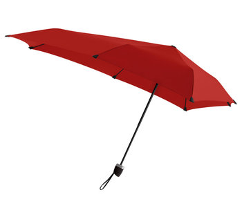 Senz Mini Automatic Foldable Storm Umbrella Red
