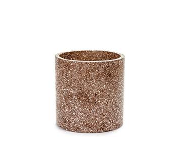 Serax Terrazzo Pot Bruin D25