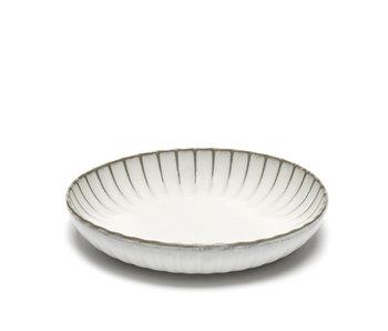 Serax Inku High Plate White 23 cm