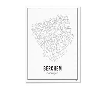 Wijck Poster Antwerp Berchem 50/70