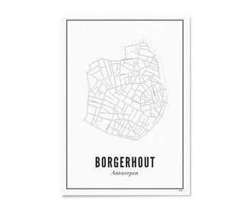 Wijck Poster Antwerp Borgerhout 50/70
