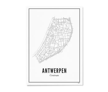 Wijck Poster Antwerp Centre 50/70