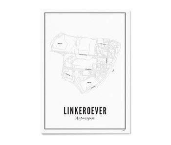 Wijck Poster Antwerp Linkeroever 50/70