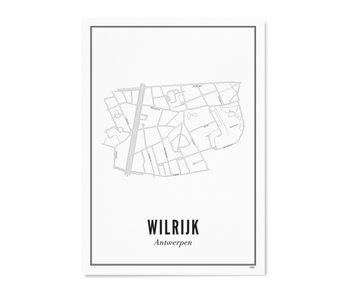Wijck Poster Antwerp Wilrijk 50/70
