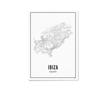 Wijck Poster Ibiza 30/40