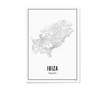 Wijck Poster Ibiza City 50/70