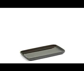 Serax Cose Schaal Rechthoekig S 16/9/1 Dark Grey