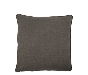 House Doctor Sai Cushion Dark Grey 50/50 UIT