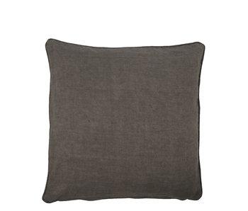 House Doctor Sai Cushion Dark Grey 50/50