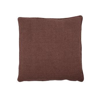 House Doctor Sai Cushion Red/Brown 50/50