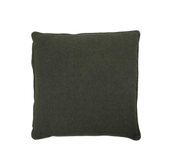 House Doctor Sai Cushion Dark Green 50/50 UIT