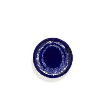Serax Feast Bord Lapis Lazuli Swirl-Dots Wit 19 cm