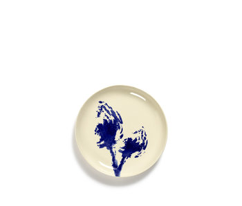 Serax Feast Bord Wit Artichoke Blauw 19 cm