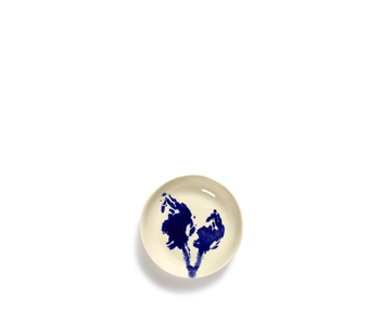 Serax Feast Schotel Wit Artisjok Blauw 11,5 cm