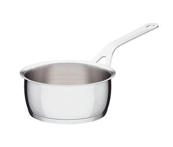 Alessi Pots&Pans Steelpan met deksel 16 cm