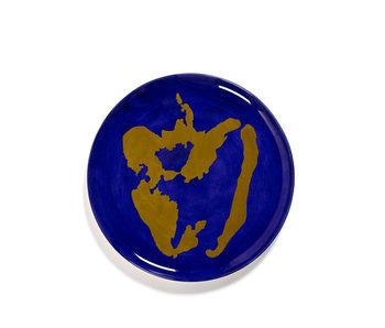 Serax Feast Serveerbord Lapis Lazuli Pepper Gold 35 cm