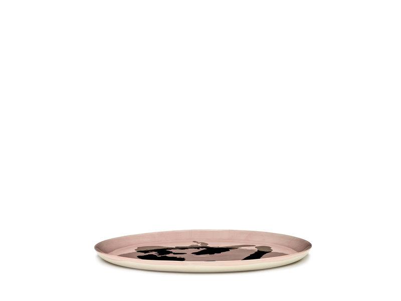 Serax Feast Serveerbord Delicious Pink Pepper Gold 35 cm