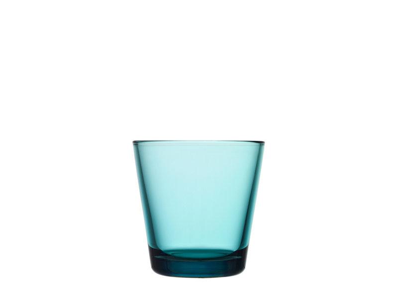 Iittala Kartio Glas 21 cl Zeeblauw